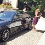 Fahrzeug für Hochzeit