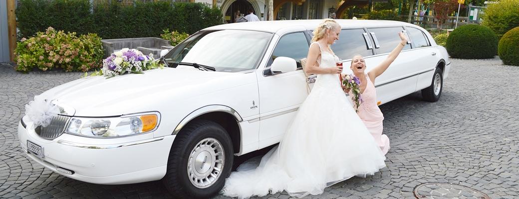 Klassisches Hochzeitsauto