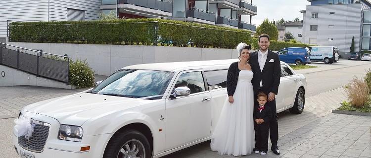 Hochzeitslimo nach Sempach mieten