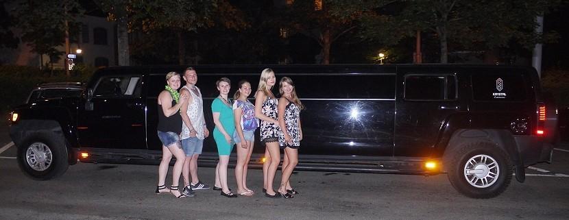 Limousine mieten Fricktal AG