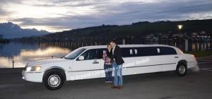 Limousine zur Verlobung