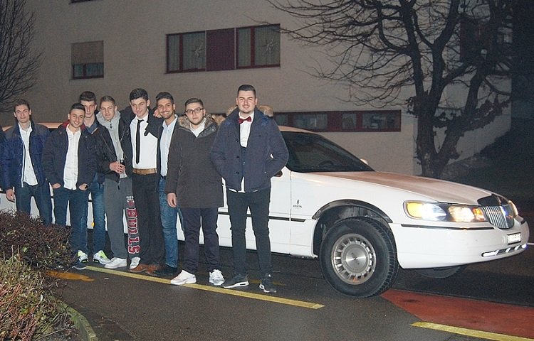 Egons Birthday Limousine