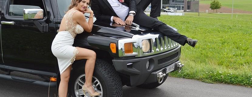 Limo Hochzeit Jost