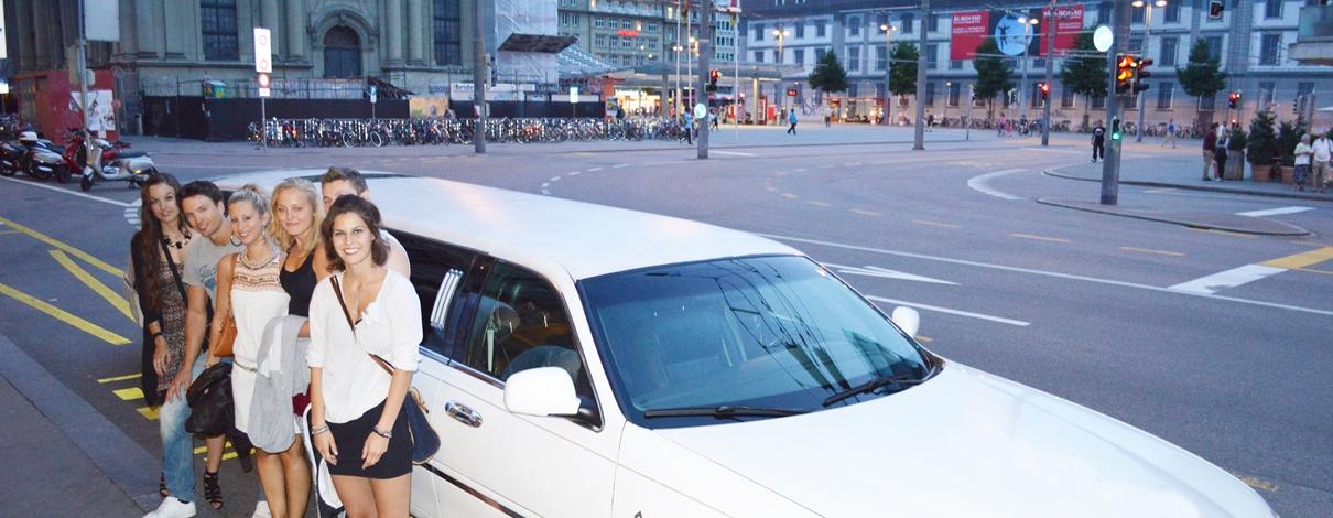 Limousine Bern mieten Slider01