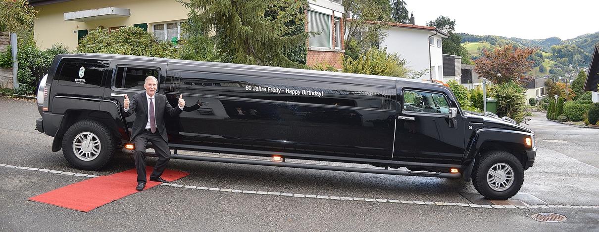 Limousine beschriften Slider 01