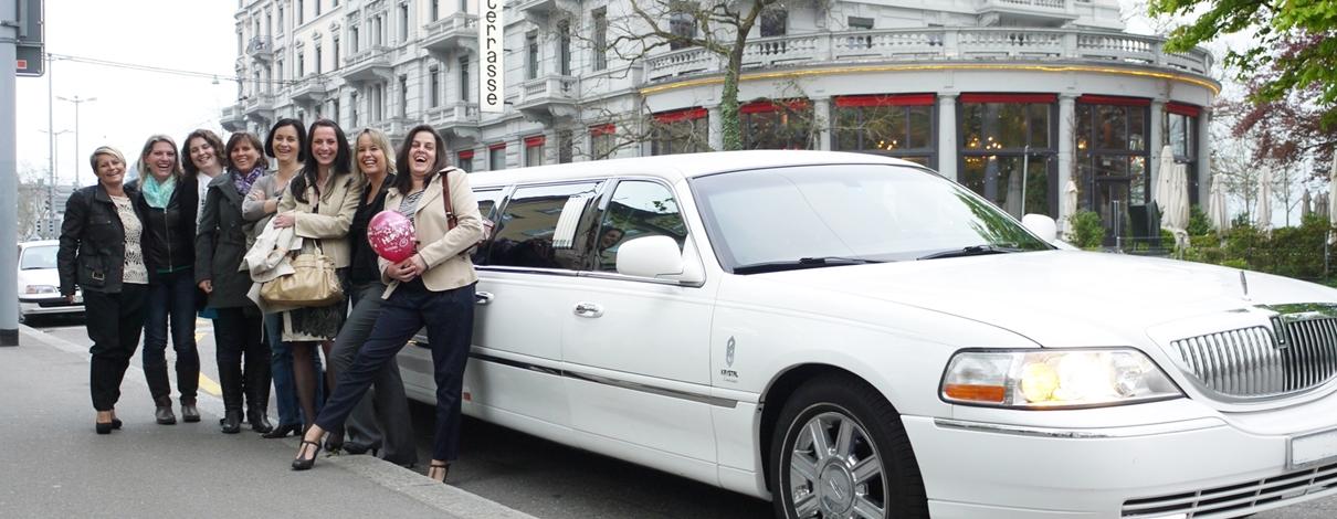 Limousine Zürich mieten Slider1