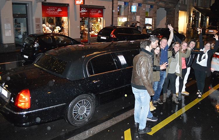 limousine mieten schaffhausen