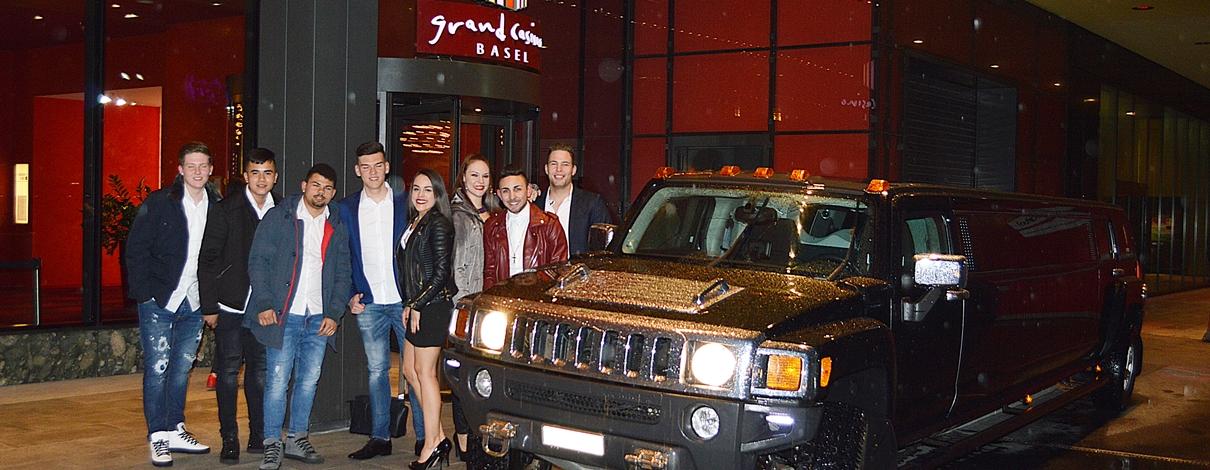 Basel Casino Limousine Hummer