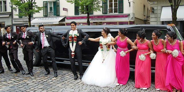 Sabrina Matthias Hummer Hochzeitslimo