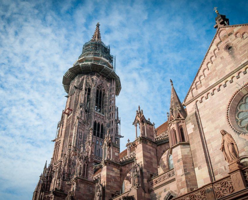 Freiburg Kathedralenturm