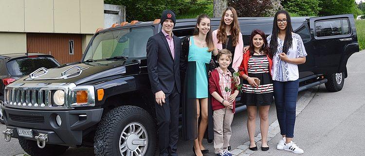 SUV Chauffeur Service Schweiz