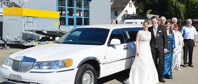 Hochzeit Burgdorf Limo Stretch