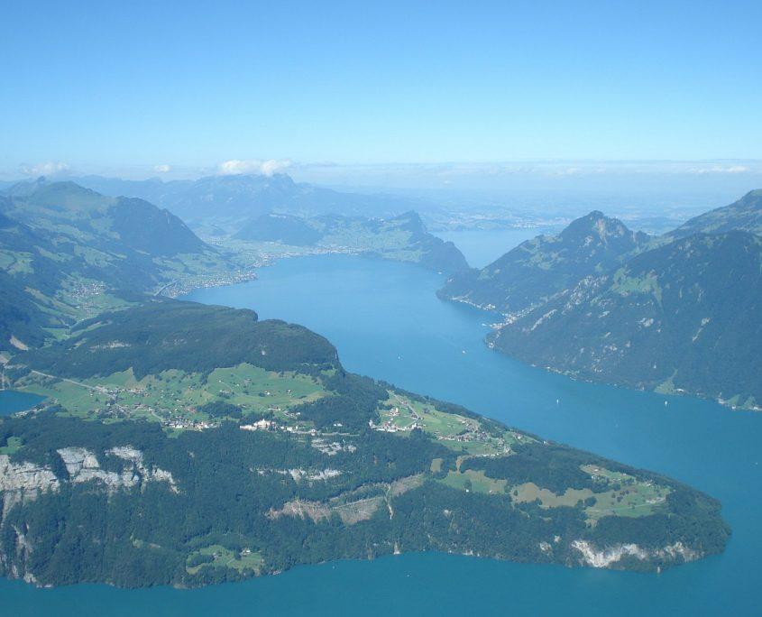 Schwyz Vierwaldstättersee Alpen