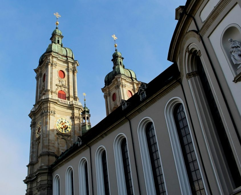 St. Gallen Wahrzeichen Stiftskirche