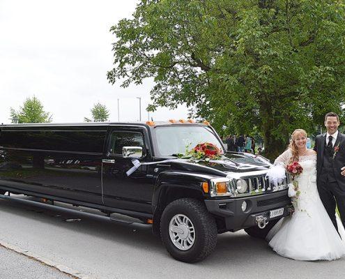 Angela und Norberts Hochzeitshummer