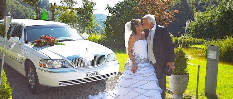 Heinz und Sabines Hochzeitlimo