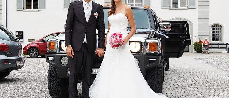 Hochzeitslimo Marina Adam