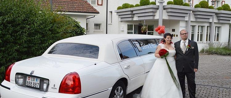 Hochzeitslimousine für Selina Rico