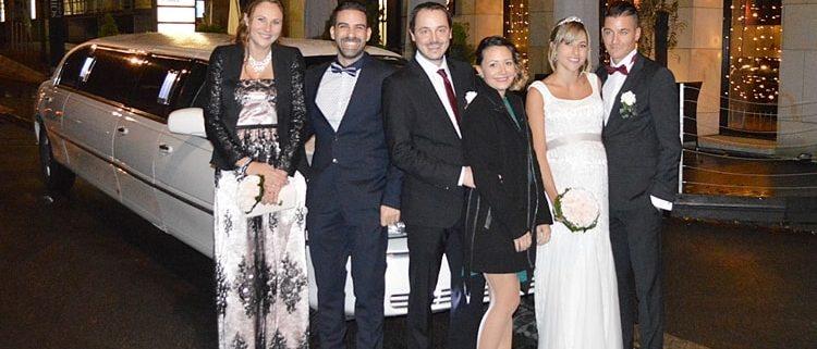Hochzeitslimo Sabrina und Stefano