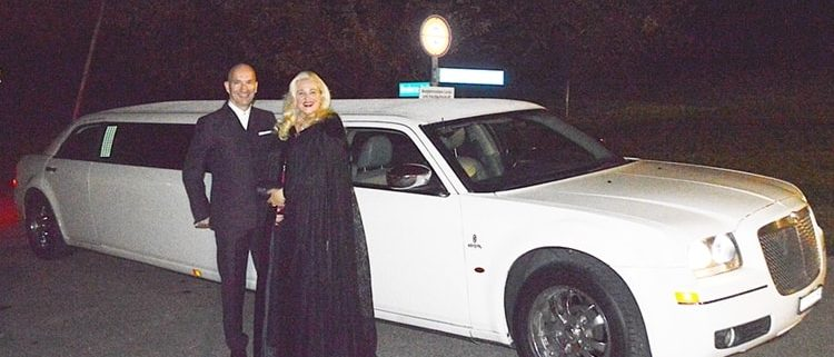 Limousine Polyball zu zweit