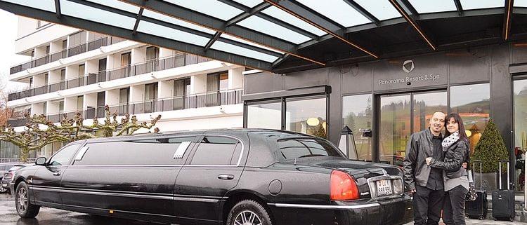 Limousine zum 40 Geburtstag Feusisberg