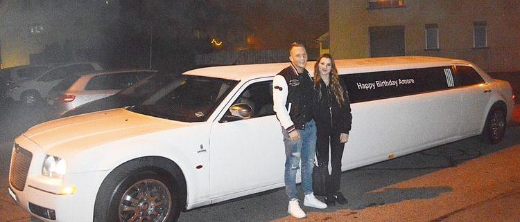 Ramons Chrysler Limo Fahrt