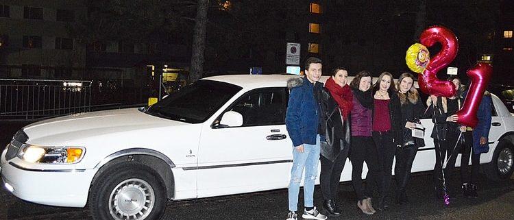 Limousine Chur nach Zürich Spass