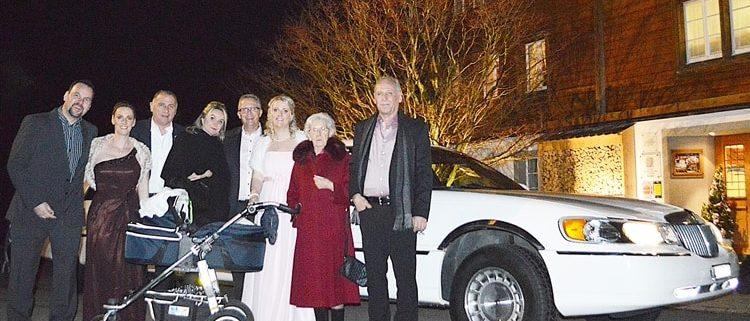 Peter und Melanie heiraten