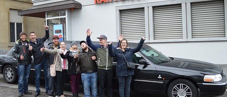 Ausflug mit Freunden Alpnach nach Luzern