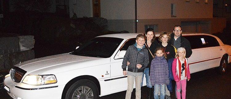 Papas Geburtstags Limousine in SG