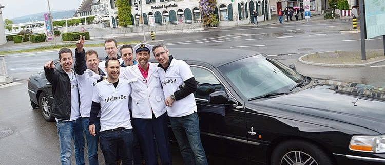 Fabians Poltertour mit Freunden in ZH