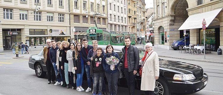 Andelinas Geburtstaglimo in Basel