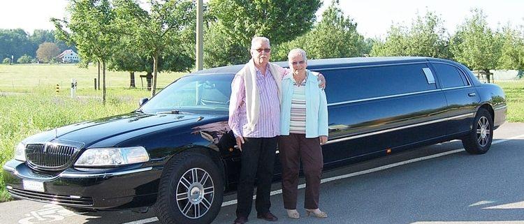 Pauls 80 Geburtstags-Limousine Service