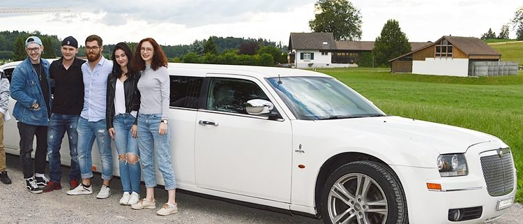 Alessias 18 Geburtstag Limousine Fahrt