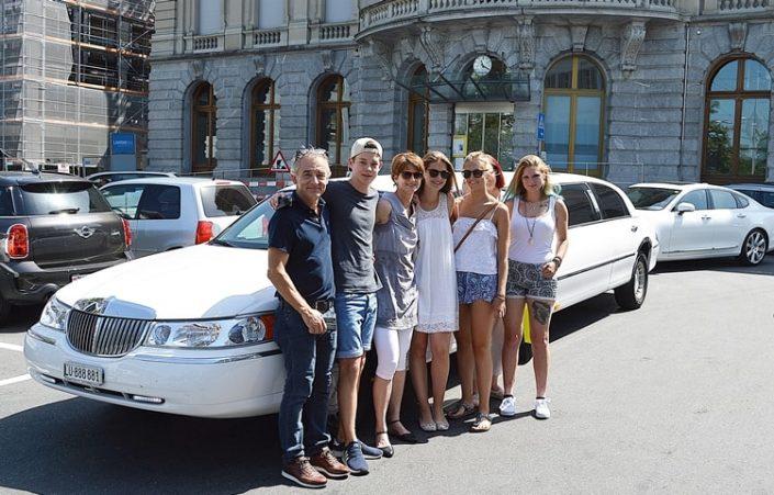 Limousine für Yaras Geburtstag