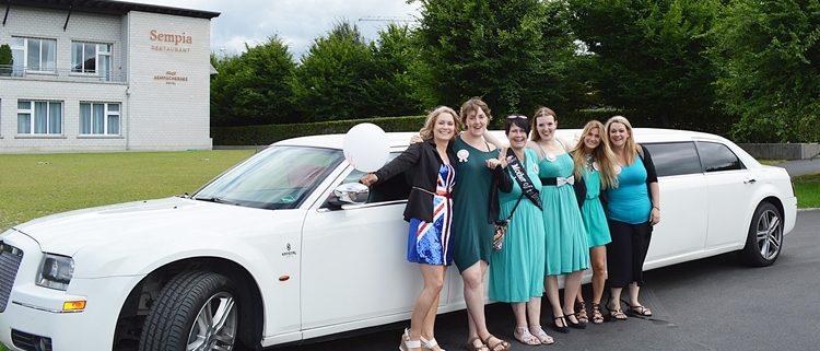 Limousine in Luzern für die Braut