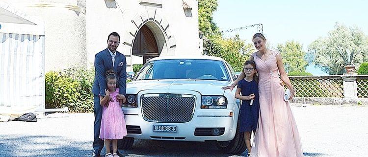 Hochzeit Limo für Alexandra und David