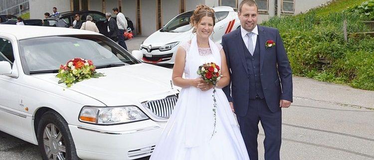 Hochzeitslimo von Tamara und Marcel in GR