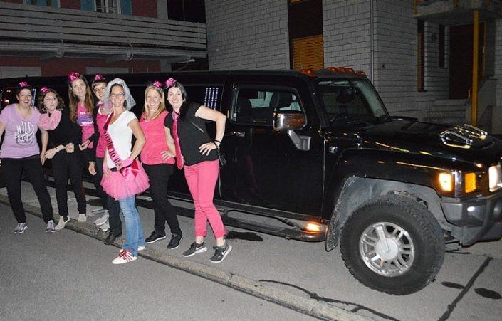 Silvias Polter Limousine nach Rotkreuz