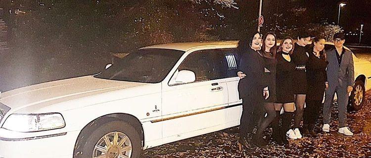 Chiaras Limousine am Geburtstag