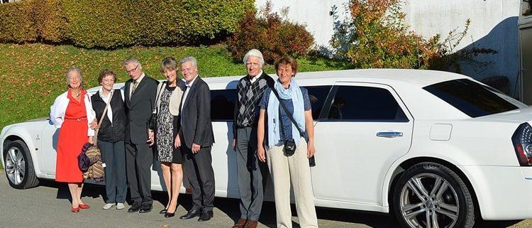 Hochzeit Limousine für Corinne