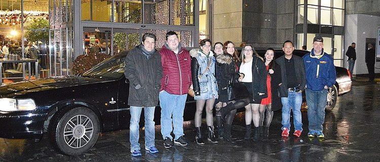 Team Weihnachtslimo in Pfäffikon