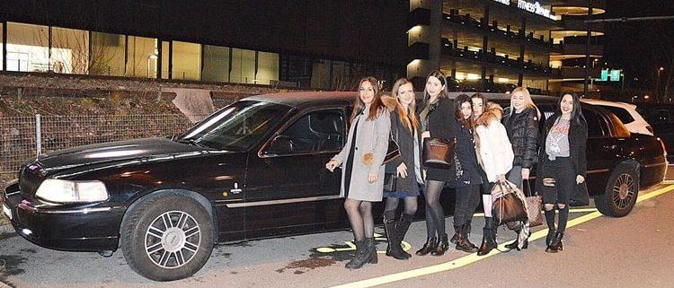 Julias Geburtstag Limousine in ZH