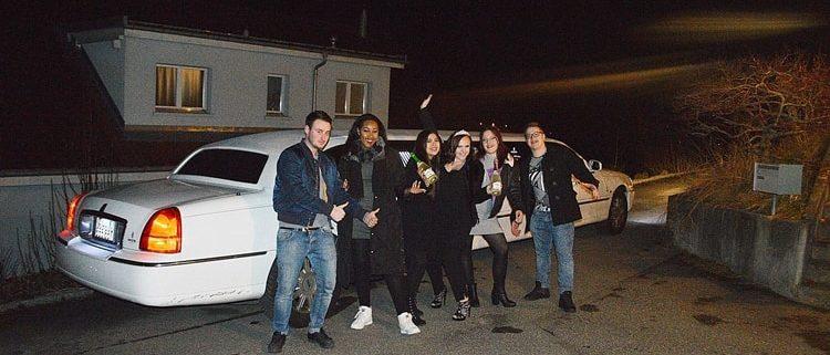 Sabrinas Geburtstag Limo in Luzern