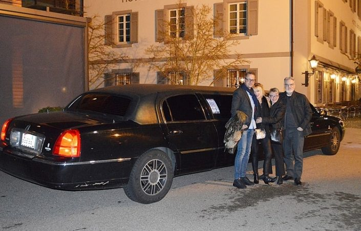 Weihnachtsausflug mit Limo in Basel