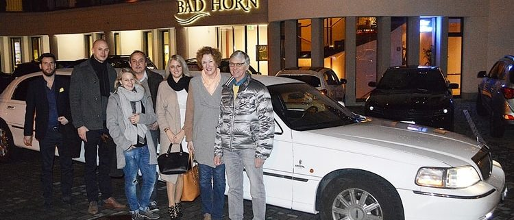 Werners 80 Geburtstag Limousine