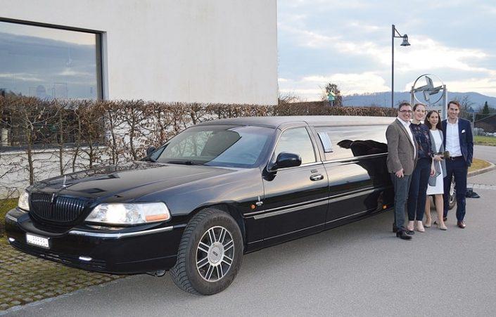 Nadines 30 Geburtstag mit Limousine