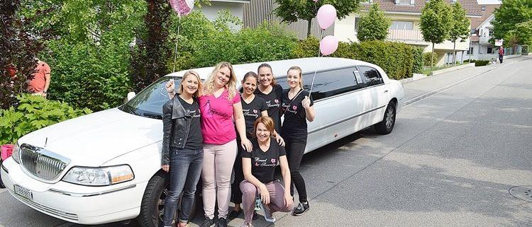 Katrin Polter Erlebnis mit Limousine