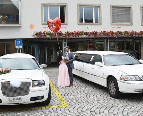 2 Limos für unser Hochzeitspaar zur Heirat am Zürichsee