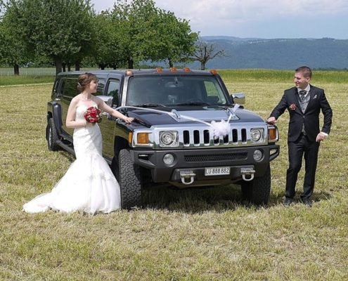 Hummer Limousine für Patrizia und Micha